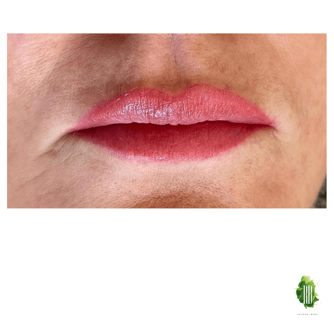 Cosmetic Tattoo Full Lip Colour on Julie by Rachael Bebe