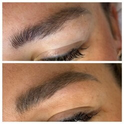 Cosmetic Tattoo Microbladed Brows for Jane by Rachael Bebe
